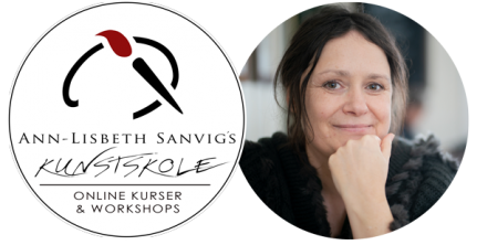 Ann-Lisbeth Sanvigs online kunstskole og workshops